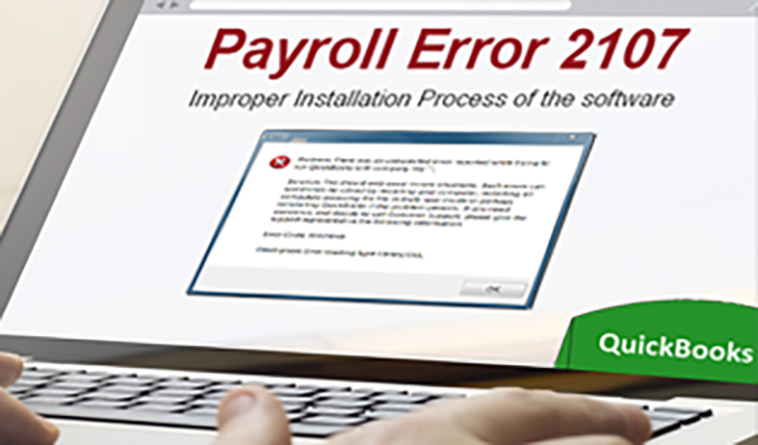 quickbooks payroll error 2107