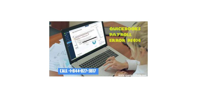 Error PS034 QuickBooks Payroll Desktop