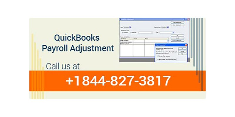 QuickBooks Payroll Adjustment
