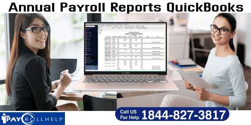 reate QuickBooks Payroll Annual Report