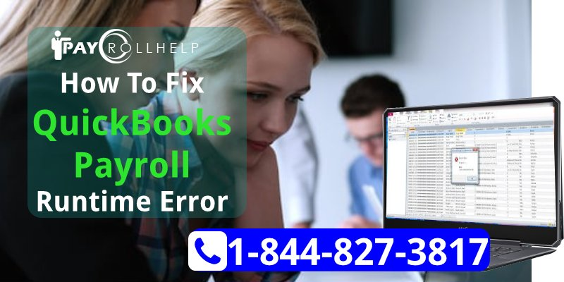 How To Fix Run Time Error Message QuickBooks Desktop Payroll