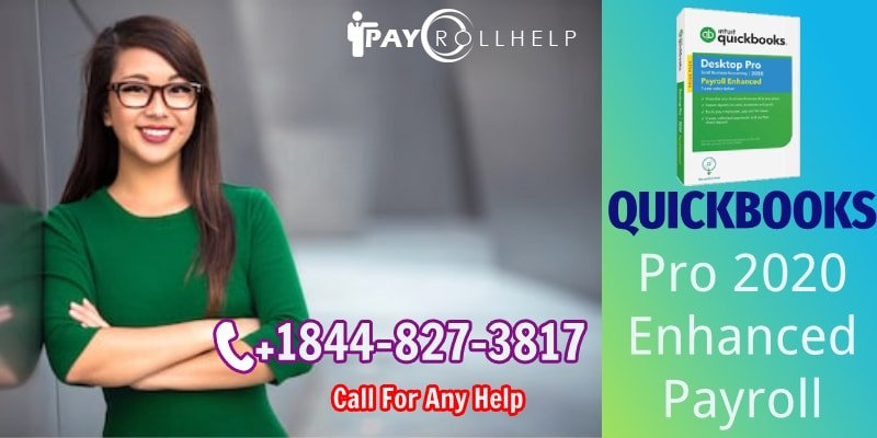 Enhanced  Payroll QuickBooks Pro 2020