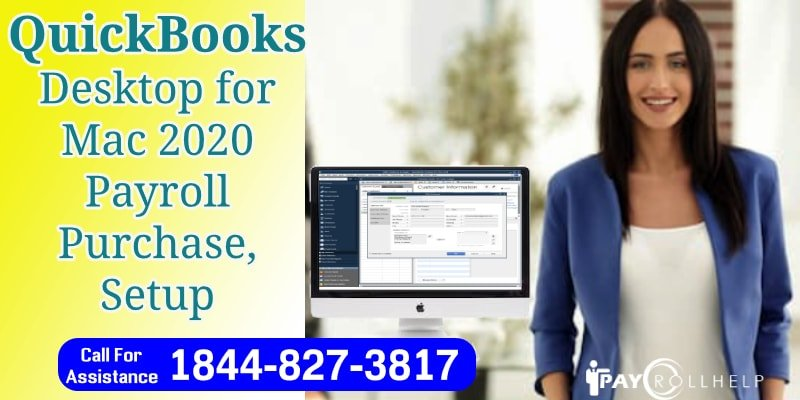 QuickBooks For Mac 2020 Payroll